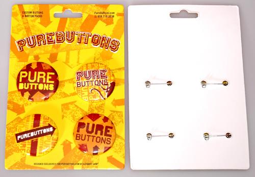 Custom 4 Button Pack