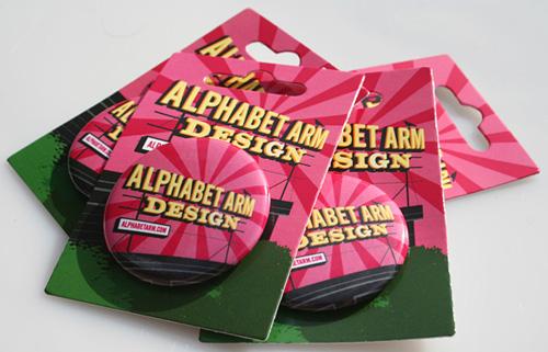 Alphabet Arm Button Packs