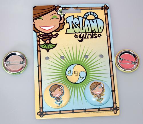 Island Girl - Button Packs