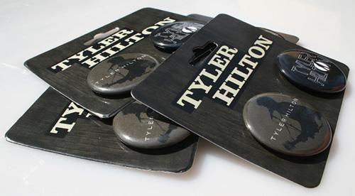 Tyler Hilton Button Packs