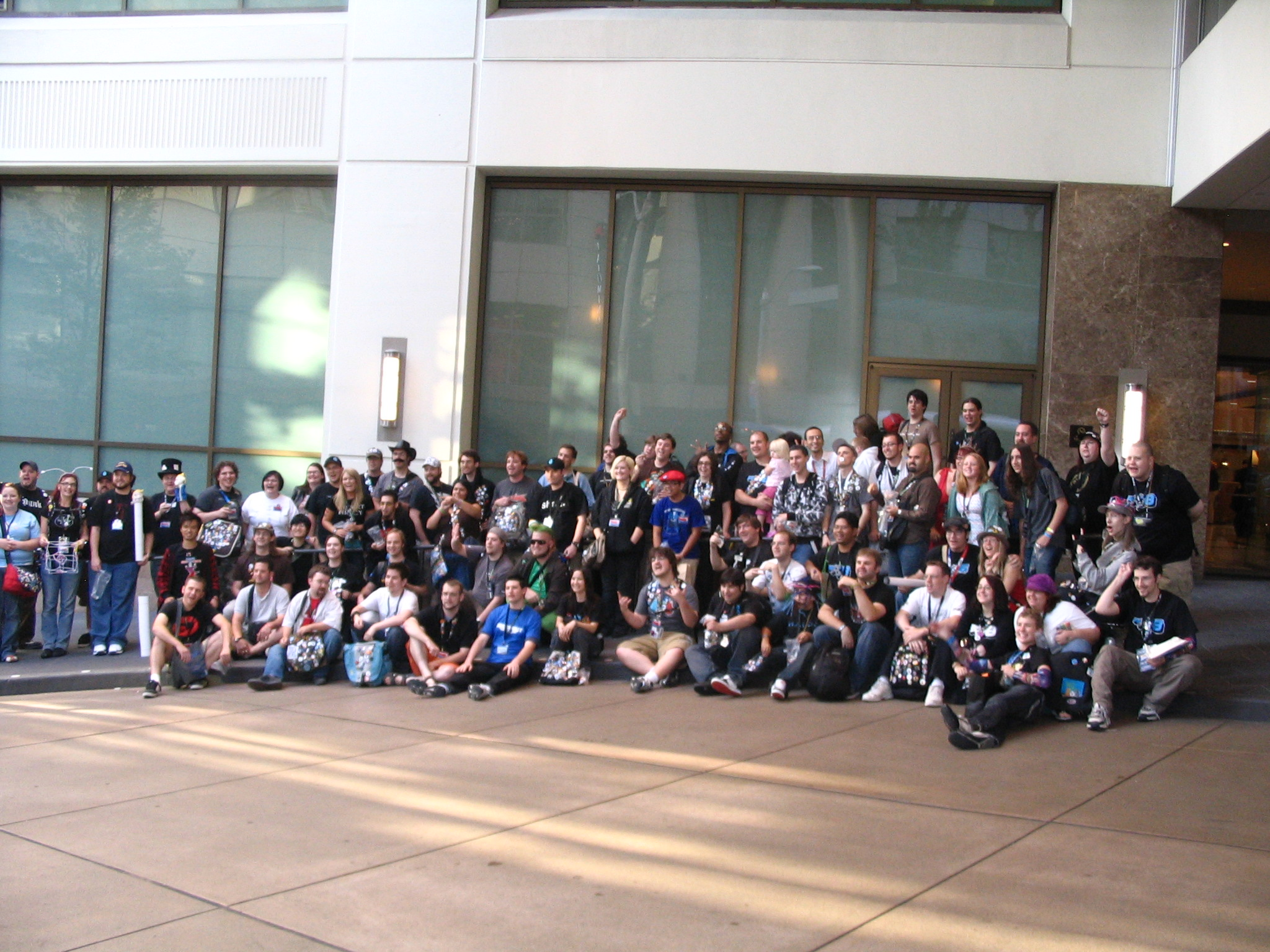 PAX '08 Buttoneers group shot