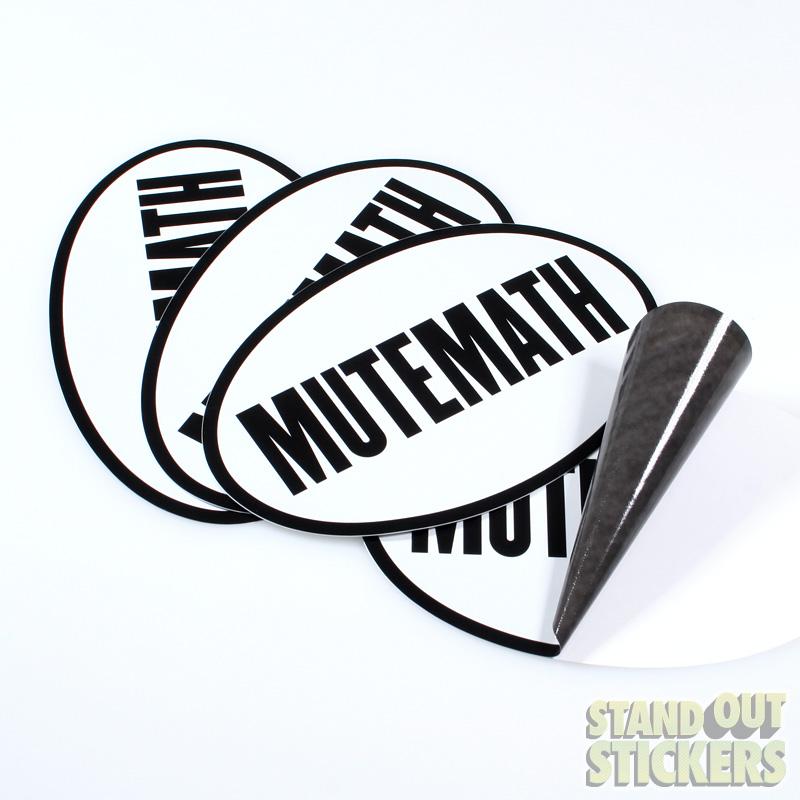 Mutemath Custom Sticker