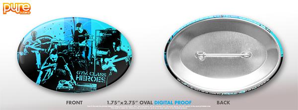 Oval Custom Button Digital Proof