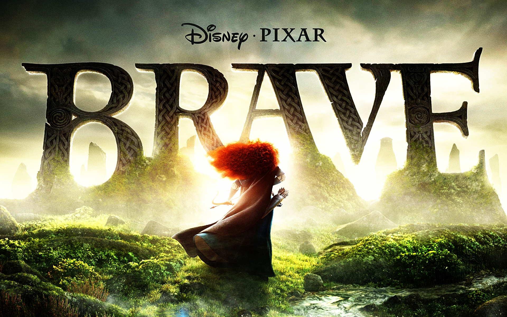 Disney Pixar Brave Custom Buttons