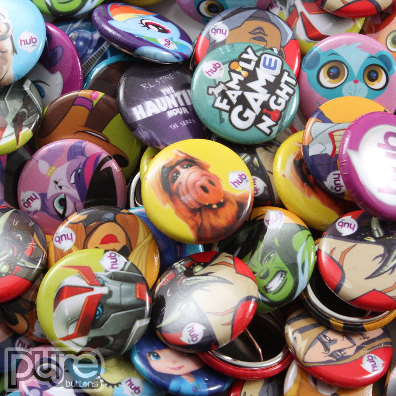 Custom Buttons, Promotional Products, Made in USA