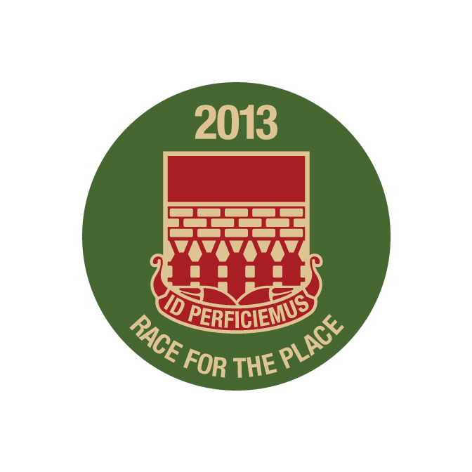 Race for the Place Charity Buttons