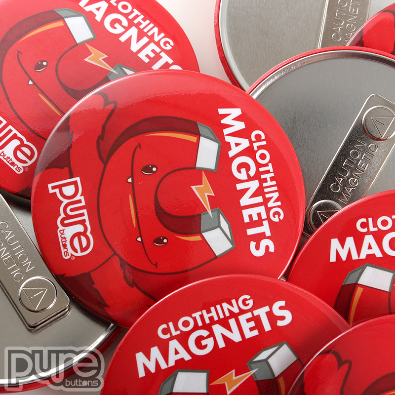Custom Clothing Magnet, Magnet Buttons, Wearable magnets