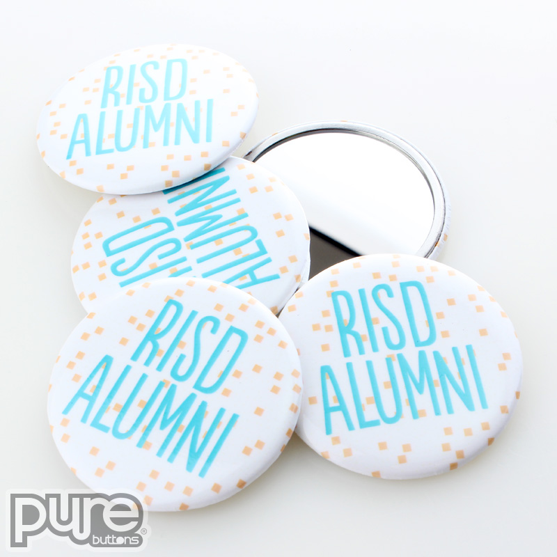 RISD Rhode Island School of Design Alumni Custom Pocket Mirrors