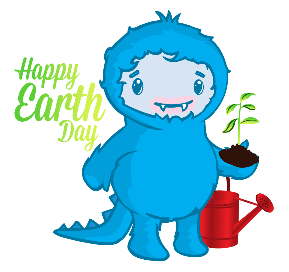 Earth Day Custom Buttons