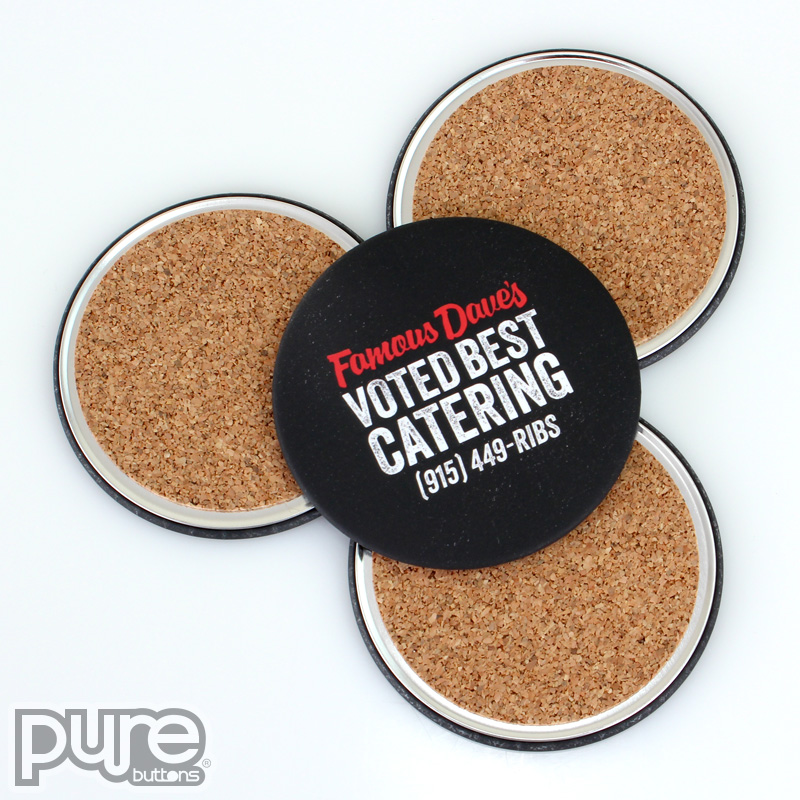 Famous Daves Custom Coasters