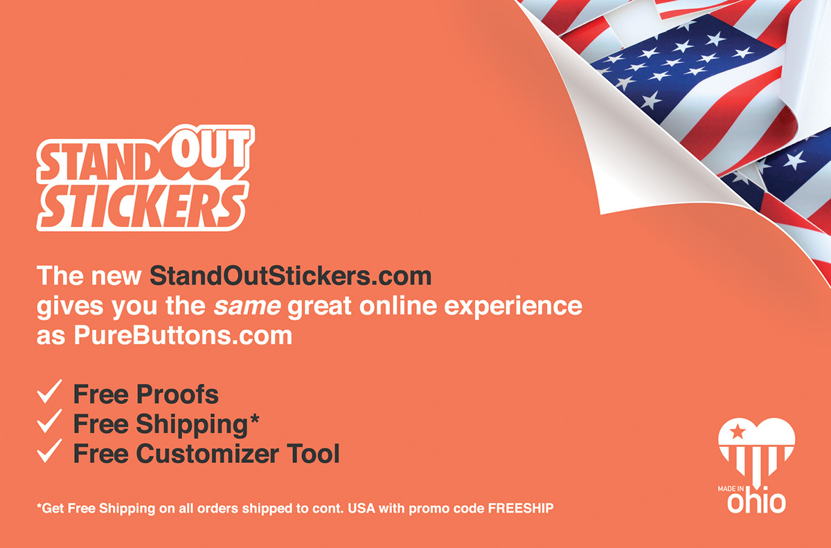 Custom Stickers by StandOut Stickers