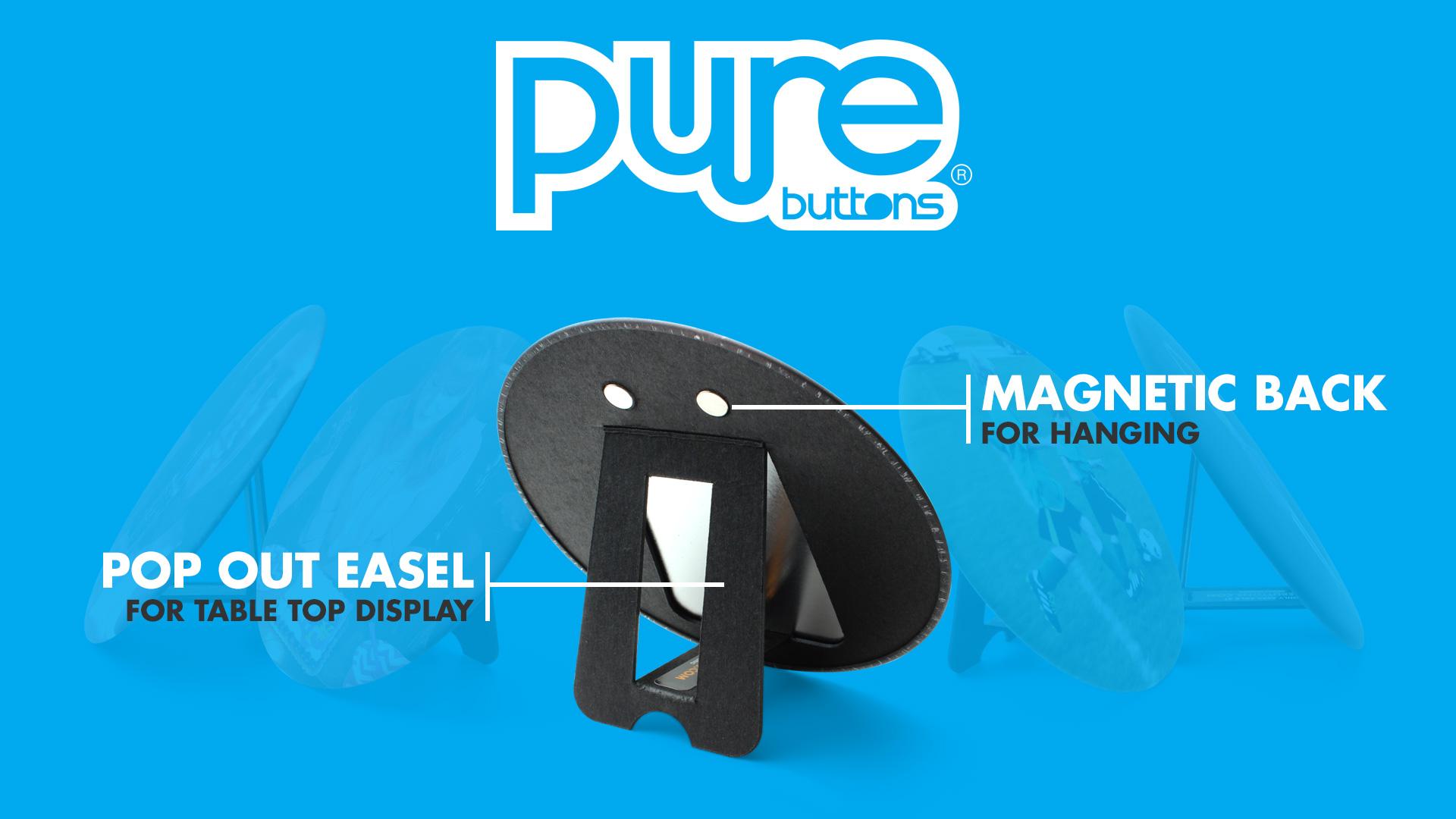 Magnetic Easel Display