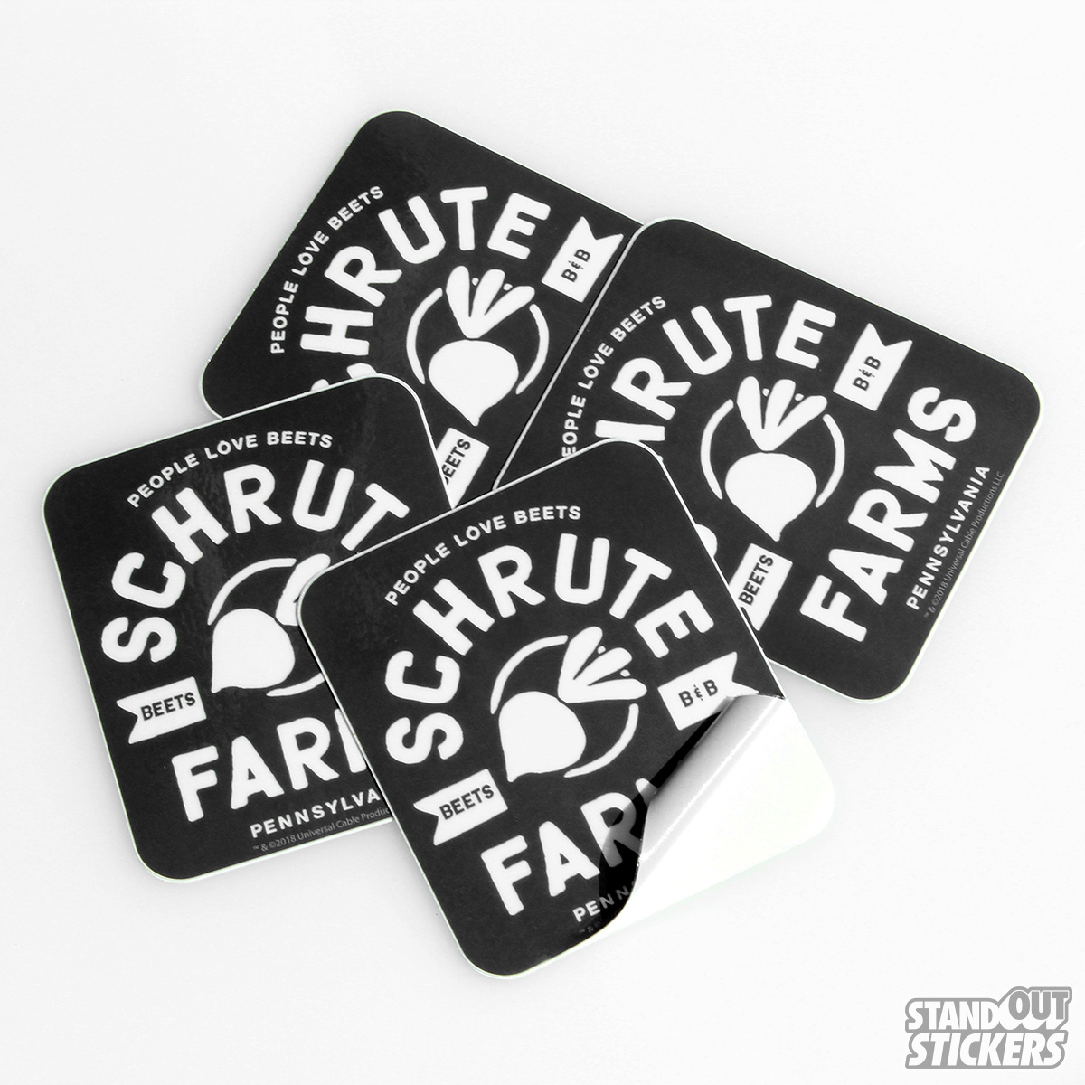 The Office NBC Official Merchandise - Schrute Farms Sticker