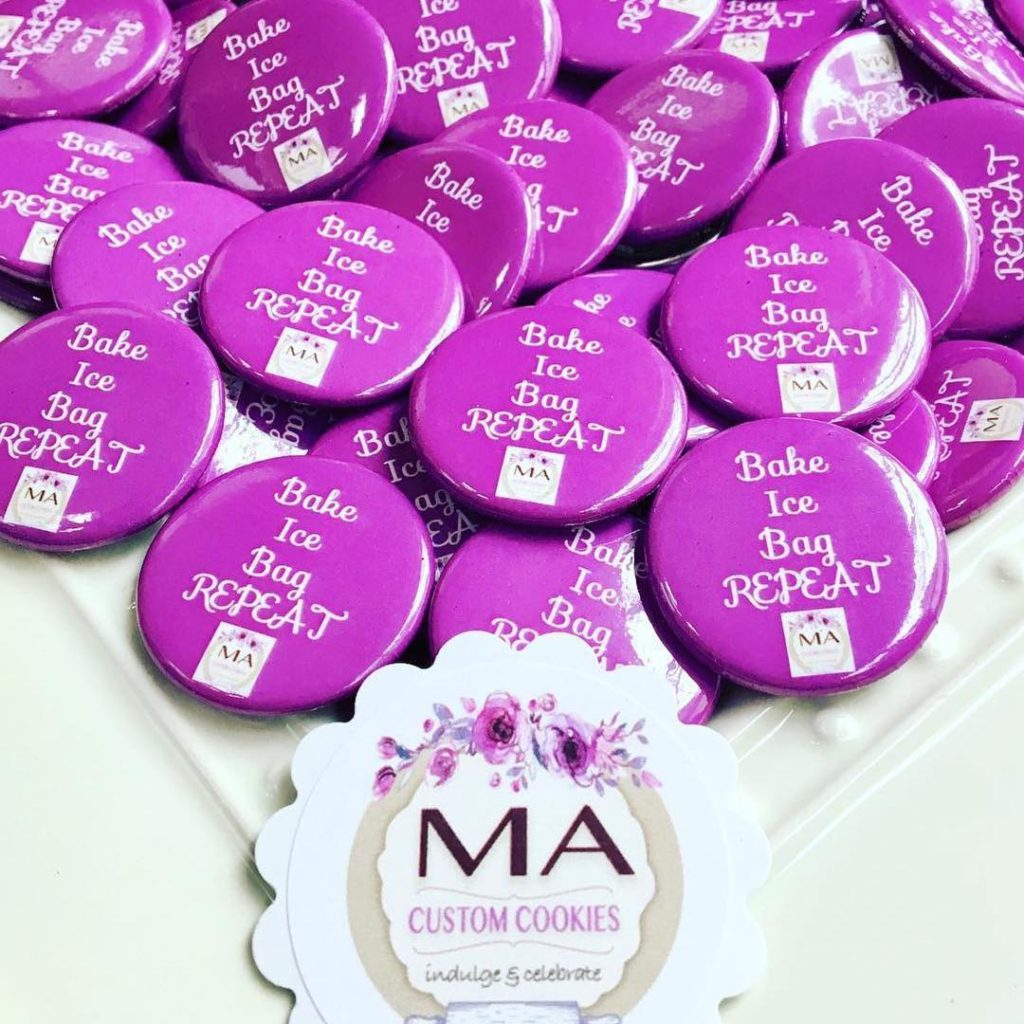 Custom Buttons for MA Custom Cookies