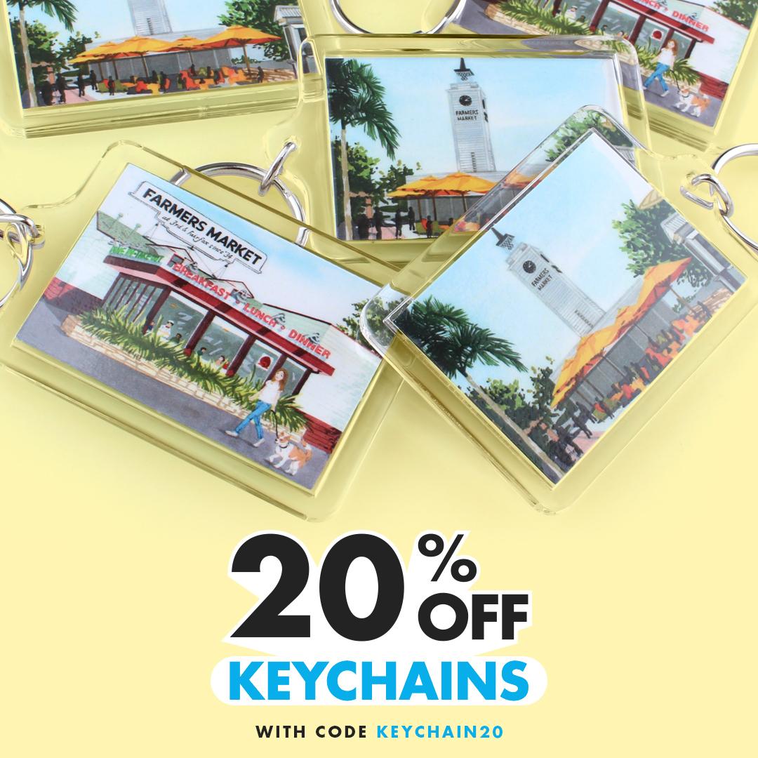 20% Off Custom Keychains
