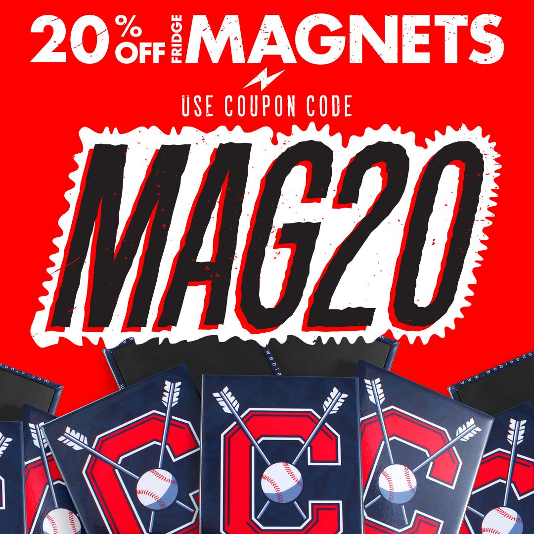 20% OFF Custom Fridge Magnets