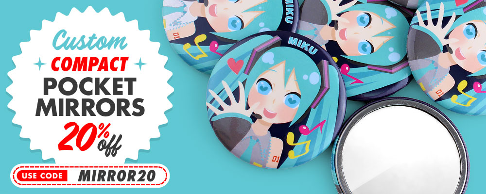 20% Off Compact Pocket Mirrors