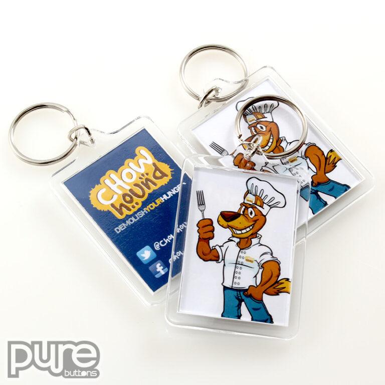 Chow Hound Custom Keychains