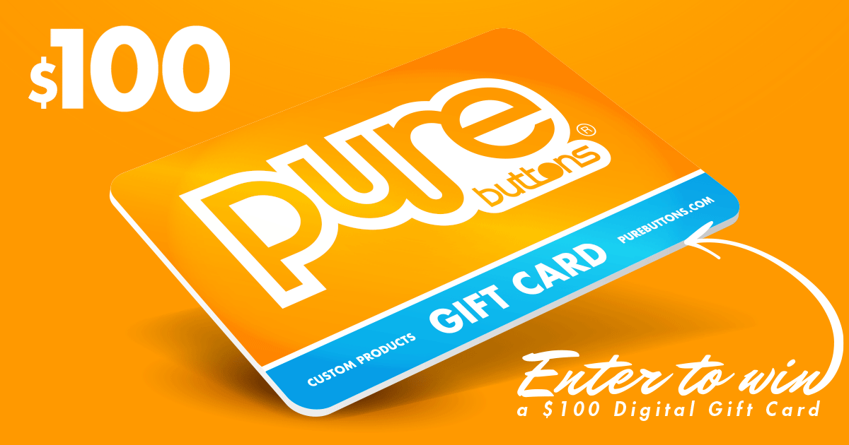 Win a $100 Pure Buttons gift card