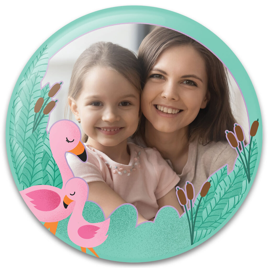 Flamingood Mom Mother's Day Photo Gift Template