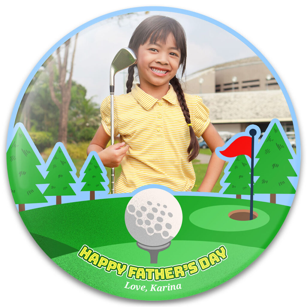 Hole In One Father's Day Photo Gift