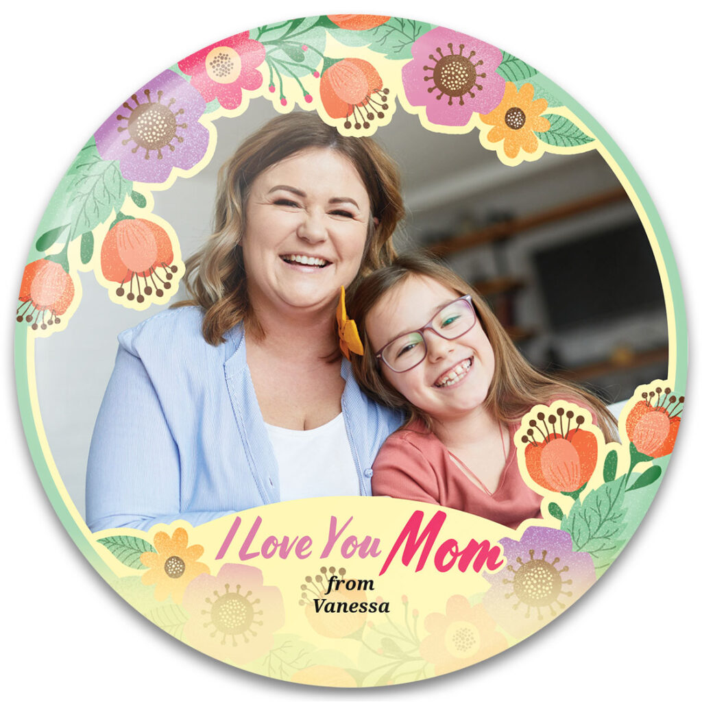 Mother's Day Flowers Photo Gift Template