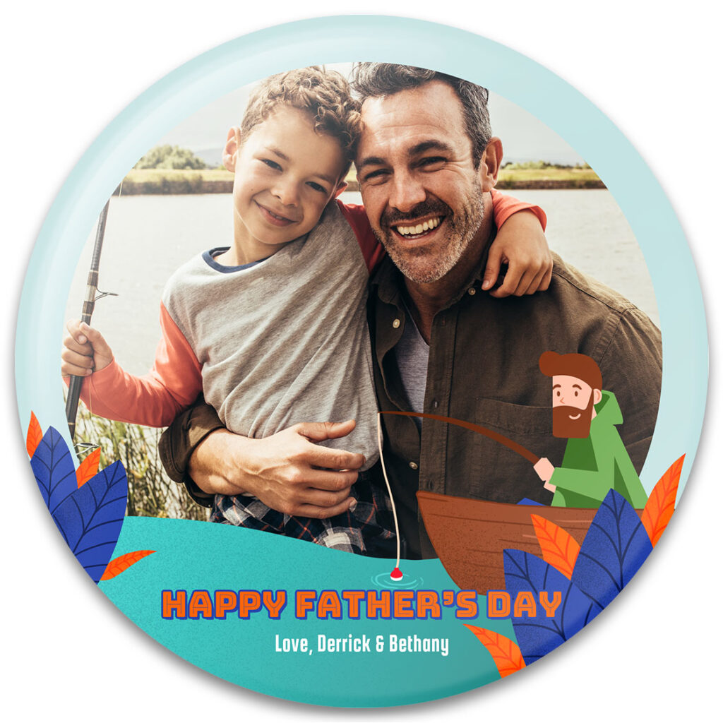 Reel Great Dad Father's Day Photo Gift