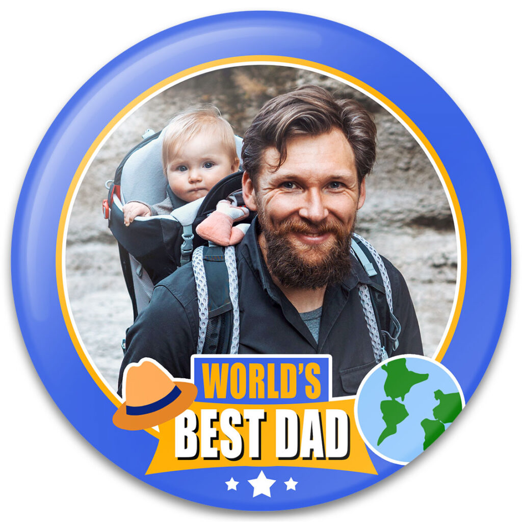 World's Best Dad Father's Day Photo Gift