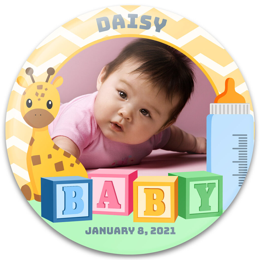 Baby Blocks Photo Frame Design