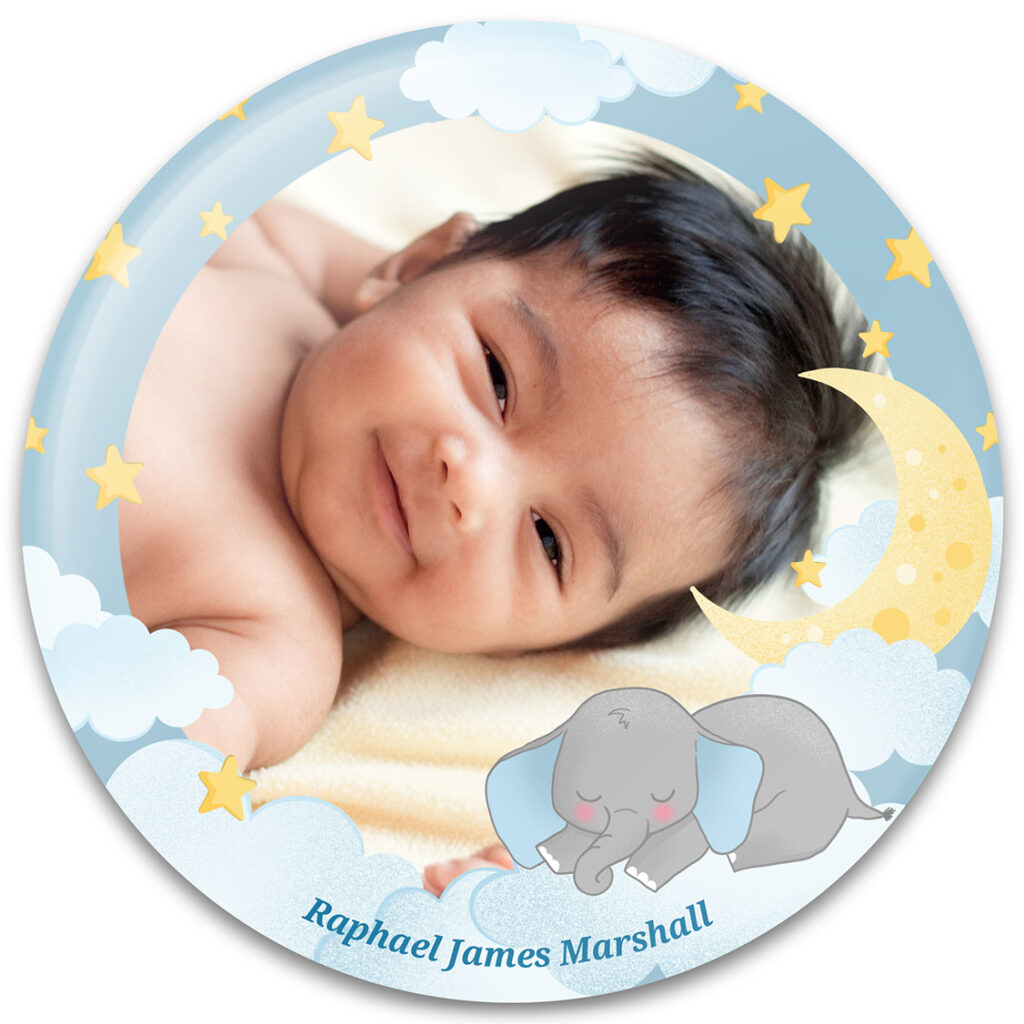 Baby Elephant Photo Frame Design