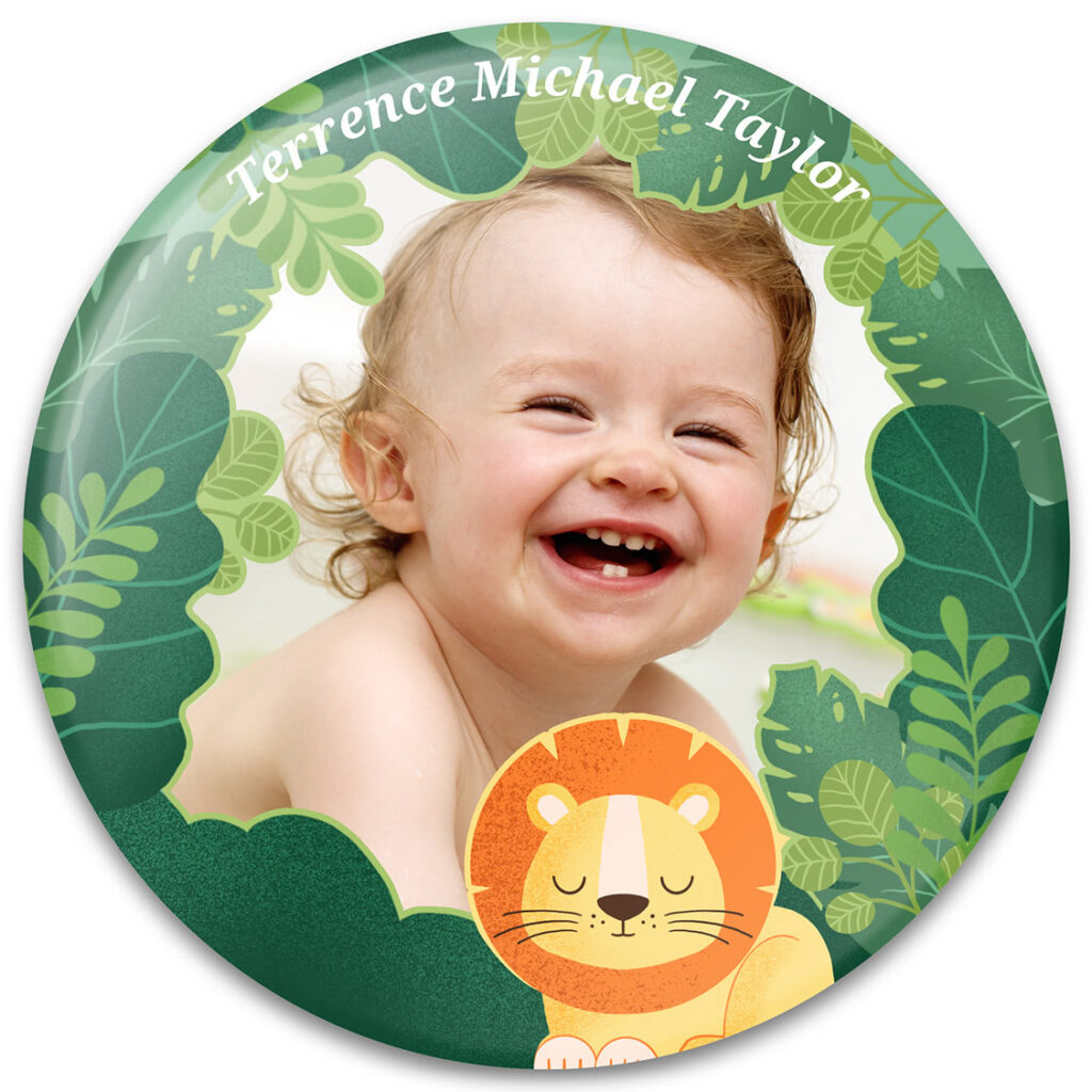 Baby Lion Photo Frame Design