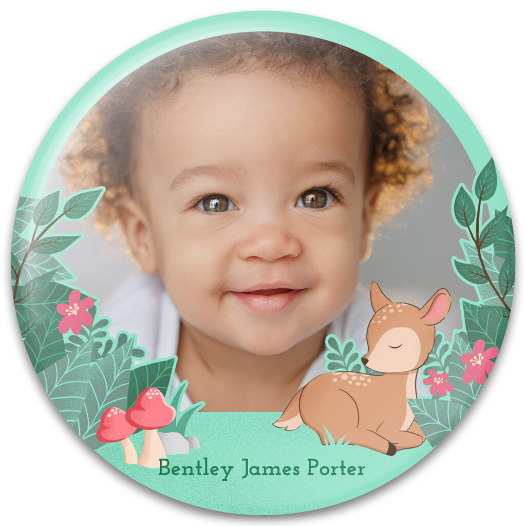Fawn Baby Photo Frame Design