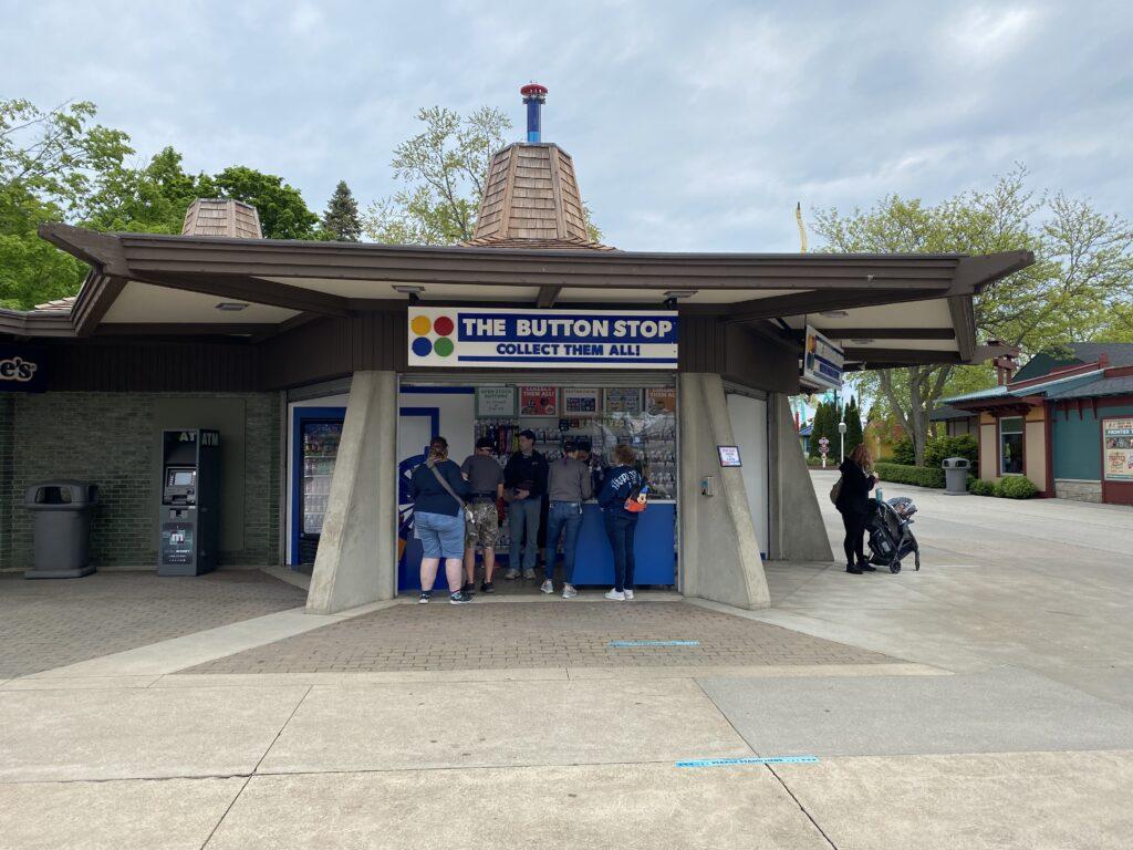Cedar Point Button Stop