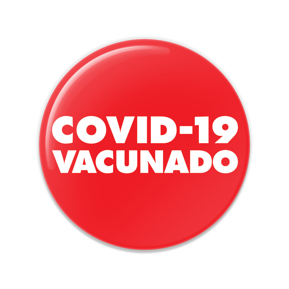 COVID-19 Vacunado Buttons