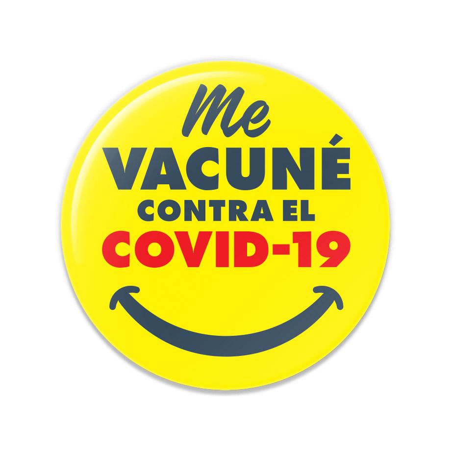 Me Vacuné Contra El COVID-19 Buttons
